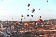 Cappadocia Turkey Scenic tour
